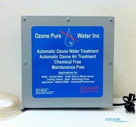ozonator from ozone pure water