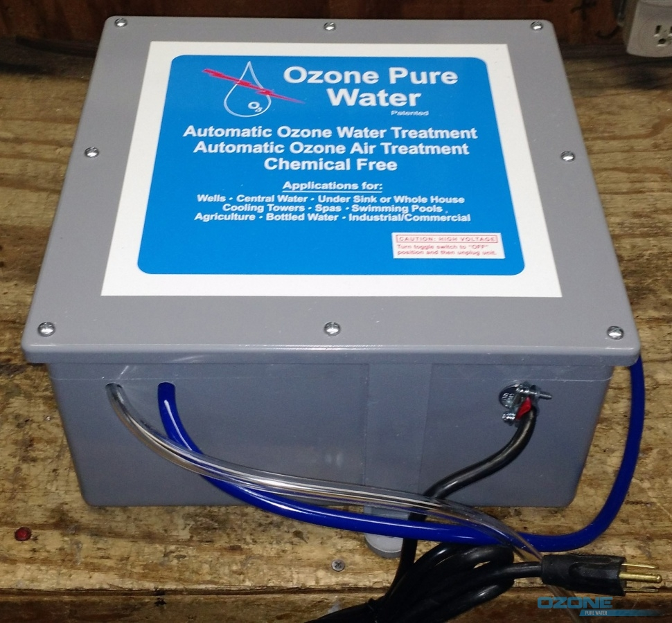 Ozone Equipment For Ozone Pure Water Inc Ozone Treatment Systems